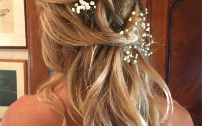 How to achieve beautiful wedding day hair